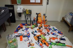 A small preview of our Nerf war arsenal