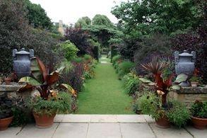 a well kept garden