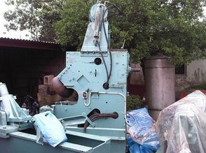 Flanger after refurbishment upon delivery to Nigeria