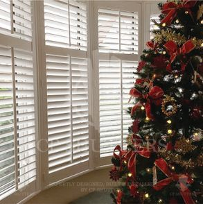 A christmas themed image from a installation carried out by CP Shutters in Essex.
