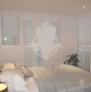 Our shutters situated in a bedroom, ilford, East London.