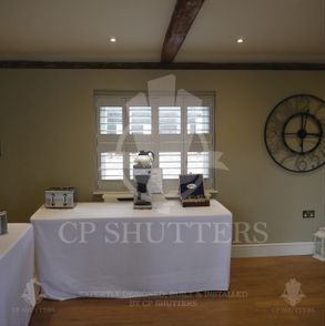 Our installers are highly skilled and trained to install our wooden window shutters
