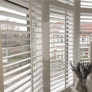 The versatility of our wooden shutters means they can be used in any room.