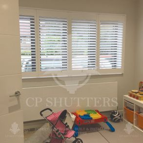 this playroom in Essex suits our seattle range of shutters so well.