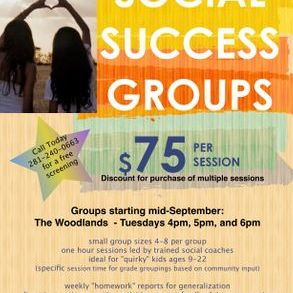 Spring 2019 groups enrolling now in The Woodlands