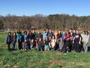 Our 2015-16 Key Club visits a potato farm in November to participate in the district Grow-A-Row project!