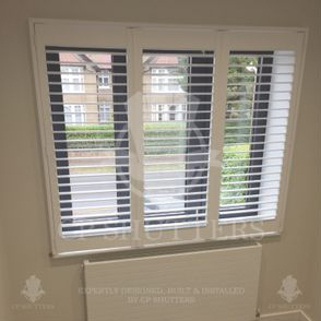 Only the finest quality wood is used in our shutters