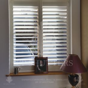 At CP Shutters, we only use the finest wood in our bespoke interior shutters.