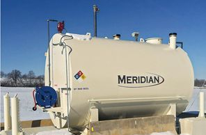 Meridian mfg Fuel Tank