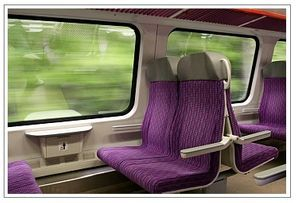 Paris to Normandy by train