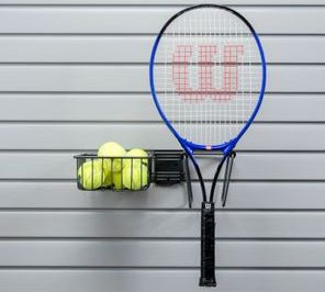 TENNIS STORAGE SLATWALL