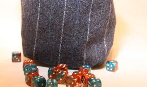 Plain Dice Bag Stripes