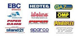Best prices for EBC Hedtec Gaz Powerflex ITG Lifeline Sparco OMP Schroth Stand21 Piper performance parts Vulcan Racing