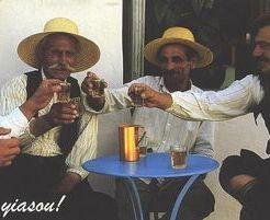 enjoying the simple moments of life, original Greek lifestyle