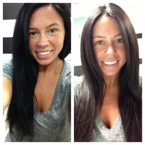 Black to Brown Color Correction