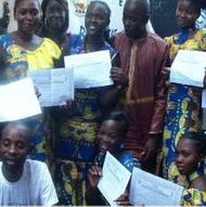 Graduates of ARD and The Father's House in Congo DR