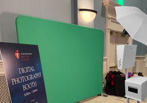 green screen Photo booth with print onsite photo photography
