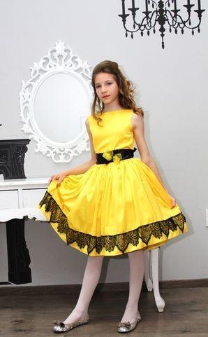haljinica za devojcice cipka saten