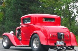 RED HOT FORD HOT ROD