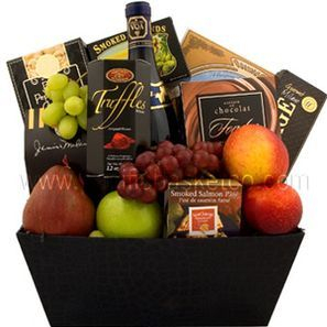 Corporate fruit and Gourmet Gift Basket