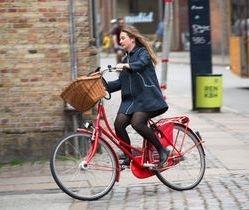 cyclist, complete street, sidewalk