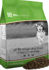 Lifes abundance dog food Holisitc