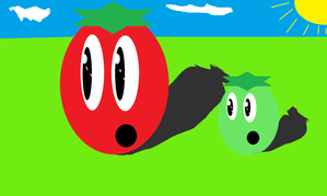 """What are they looking at? find out on the first episode of """"The Tomato"""