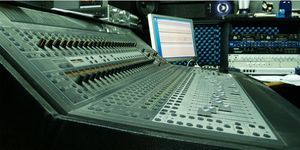 Nashville Recording Studio Mixing Board