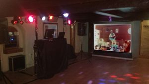 Projector and Screen Add on with G.N.G. Entertainment