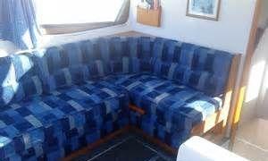 Beautiful Caravan seats & curtains
