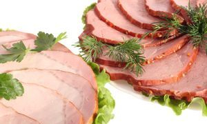 A selection of cold meats