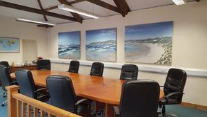 Triptych Boardroom commission