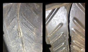 vor und nach dem Trockeneisstrahlen