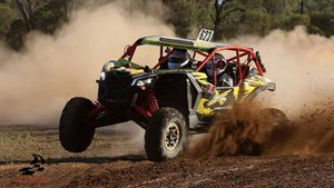 Canam adrenaline buggy ride