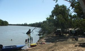 River Murray camping grounds