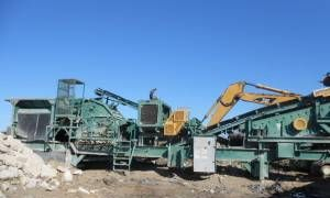 1995 Portable Eagle / Crushing Plant