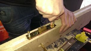 Mortise, Mortice lock locksmith course in Gateshead with Taylors Locksmiths www.taylorslocksmiths.co.uk