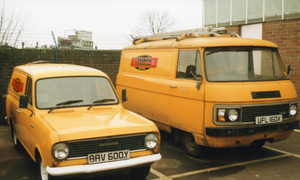 old locksmith vans 1980s Gateshead, Taylor and Sons since 1948