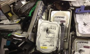 DRILLED HARD DRIVES