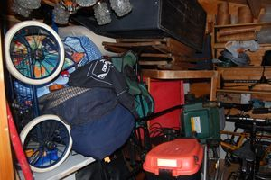 Full Cluttered Garage