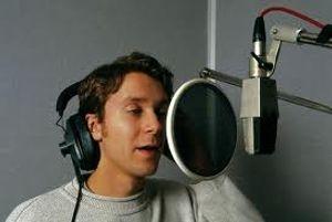 Recording studio singer
