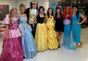 Princess for a Day at a Local School