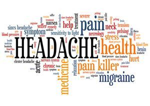 Headache Symptoms Chart