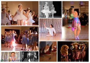 Pamela Knowles Dance Showcase Collage