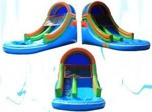 16' Tall Front Load Water Slide
