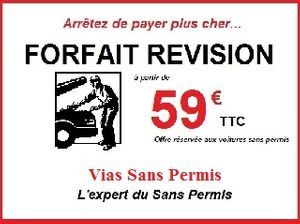 Forfait révision à partir de 59 € seulement!