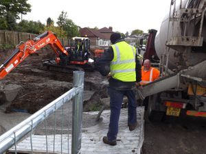 Concrete foundations Glasgow.
