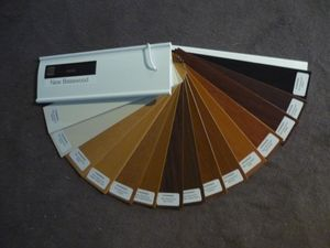 and even more timber colours in the range