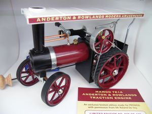 Mamod Anderton & rowland Ltd Edition Traction engine