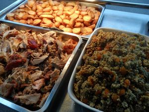Hog roaster and stuffing suppliers caters and hire